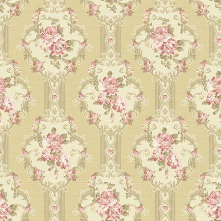 paisley pattern: paisley sans soudure de fond Banque d'images