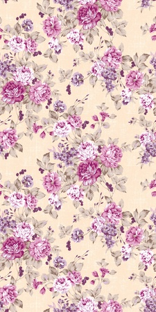 floral fabric: Seamless rose background