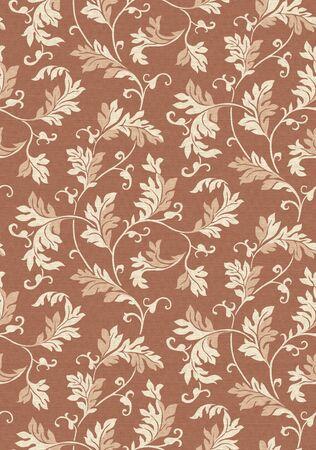 beautiful eastern pattern-leaf  photo