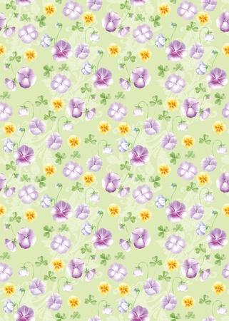 Vivid fond r?p?tition floral