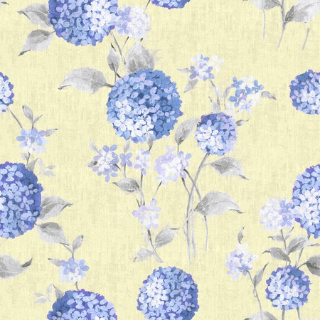 blue paisley seamless background pattern  photo