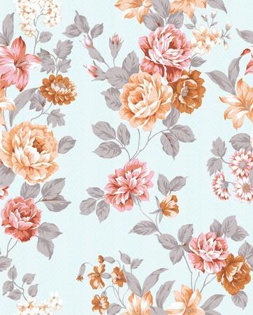 paisley design: paisley seamless background pattern  Stock Photo