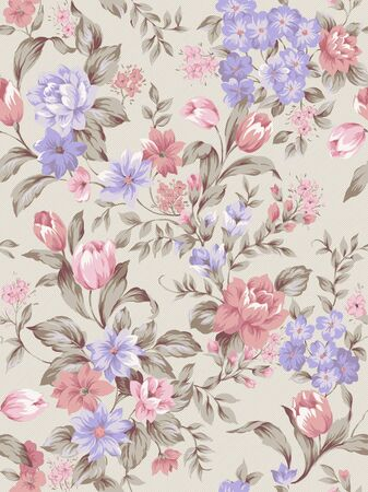 sateen: paisley seamless background pattern  Stock Photo