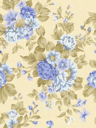 magnificence: paisley seamless background pattern  Stock Photo