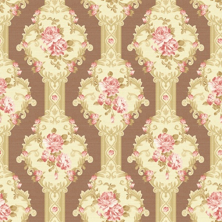 paisley seamless background pattern  Stock Photo