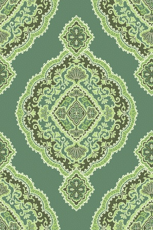 Seamless background from a floral ornament, Fashionable modern wallpaper or textile Stock Photo - 8895780