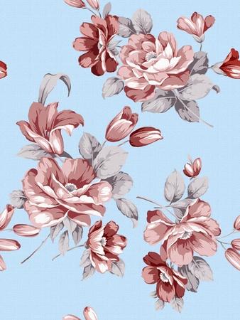 beautiful Rose eastern pattern  photo