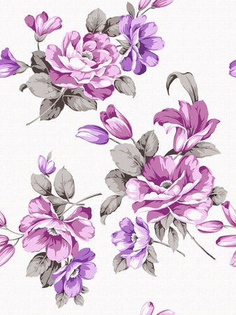 purple pattern: floral background , element for design pattern