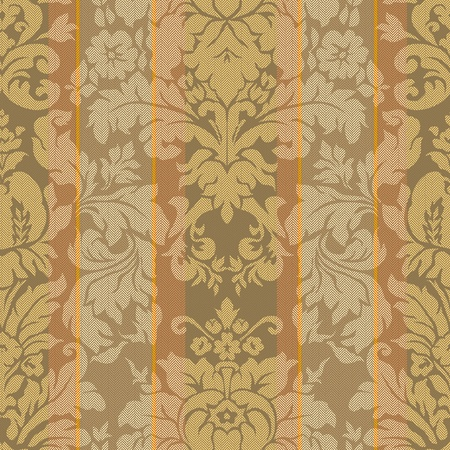 damask: paisley seamless background pattern  Stock Photo