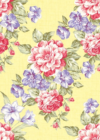 Seamless floral background Stock Photo - 9972005