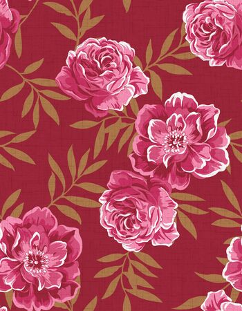 Seamless floral background Stock Photo - 9972006