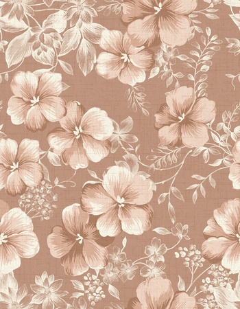 magnificence: Seamless floral background