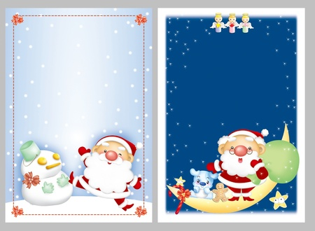 cartoon design elements, Santa claus  photo