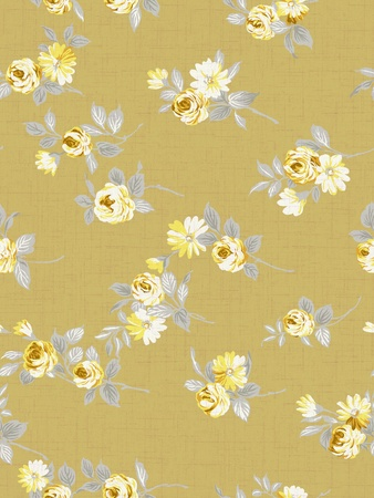 magnificence: seamless rose background pattern design