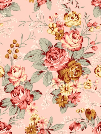 richness: paisley seamless background pattern  Stock Photo