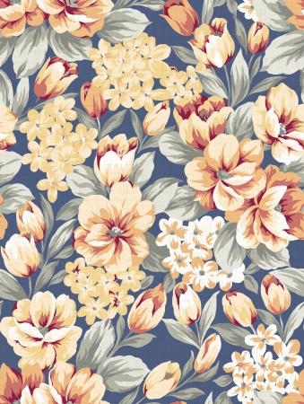 tessile: sfondo floreale, elemento per design pattern