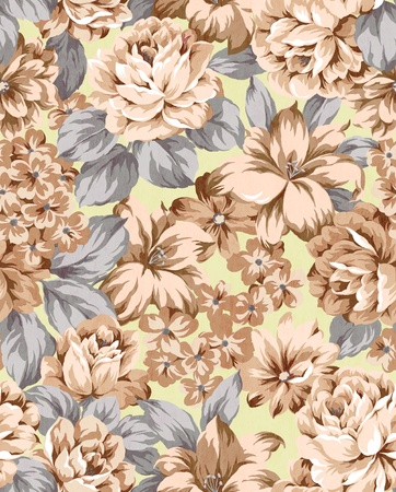 damask pattern: floral background , element for design pattern
