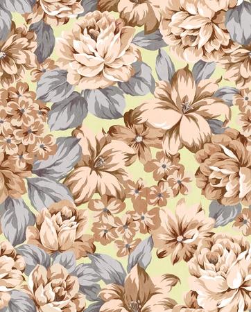 floral background, element voor ontwerp patroon Stockfoto