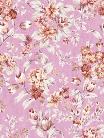 seamless rose background pattern design