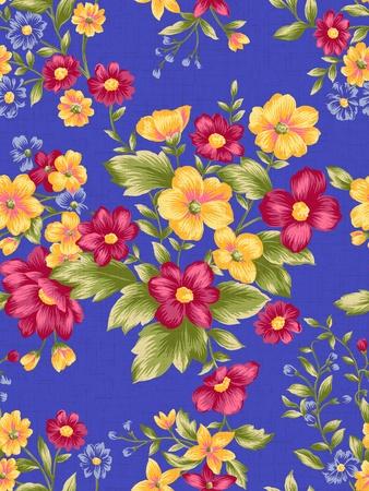 nosegay: paisley seamless background pattern  Stock Photo