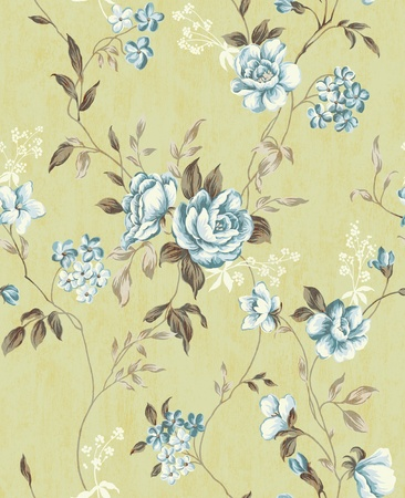 caress: Seamless floral background