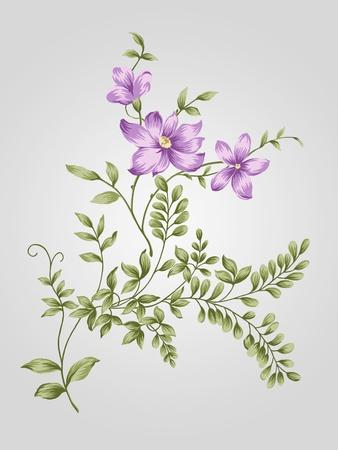 artificial flowers: nature flower bouquet design-Simple background