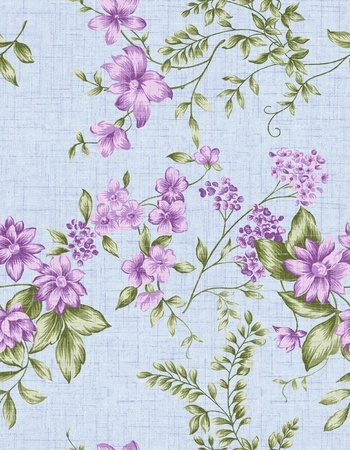 stylishness: Seamless floral background  For easy making seamless pattern use it for filling any contours   Stock Photo