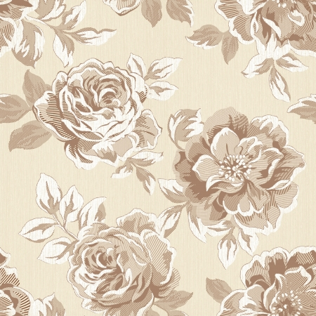 sateen: Classical style pattern seamless background - For easy making seamless pattern use it for filling any contours
