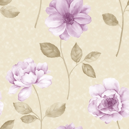 Poppy flower seamless pattern use it for filling any contours