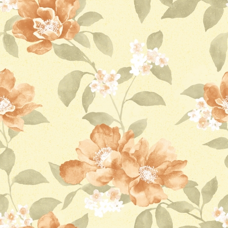 sateen: Delicate curl pattern seamless background - For easy making seamless pattern use it for filling any contours