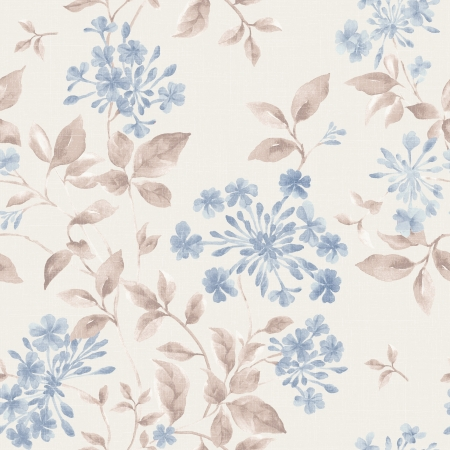 sateen: Spring style flower seamless pattern background - For easy making seamless pattern use it for filling any contours