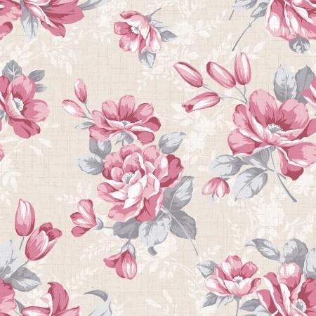 古典的なスタイルのパターンのシームレスな背景 - 簡単の作るシームレス パターンそれを使用する任意の輪郭を埋めるため