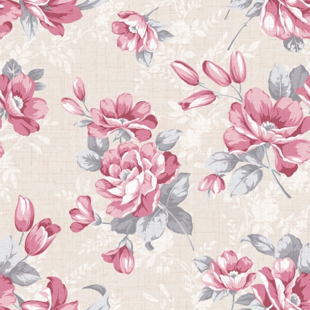 Classical style pattern seamless background - For easy making seamless pattern use it for filling any contours  Stock Photo - 20902316