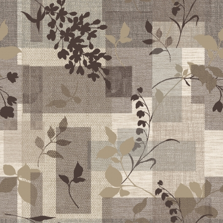 textiles: Classical style pattern seamless background - For easy making seamless pattern use it for filling any contours
