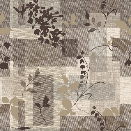 Klassieke stijl patroon naadloze achtergrond - Voor gemakkelijk maken naadloze patroon gebruiken voor het vullen van alle contouren