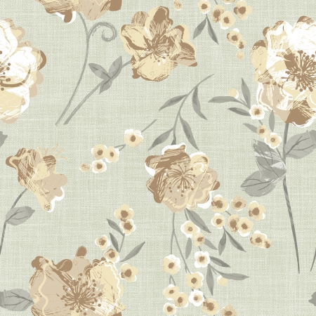 Classical style pattern seamless background - For easy making seamless pattern use it for filling any contours  Stock Photo - 23095754