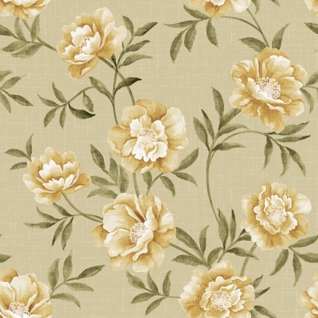 featured: Featured flowers seamless pattern
