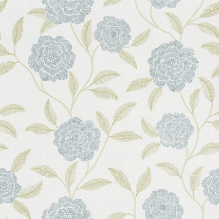 magnificence: Fresh spring flowers seamless pattern background