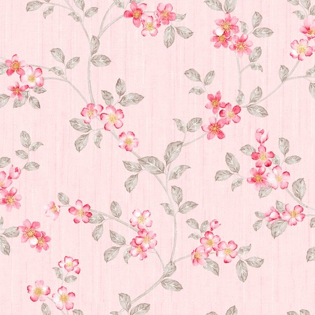 watercolor texture: Fresh spring flowers seamless pattern - For easy making seamless pattern use it for filling any contours