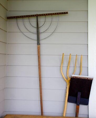 agricultural tools: Old agricultural tools in Vermont
