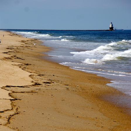 sea waves: Sea Waves in the Atlantic Ocean Stock Photo