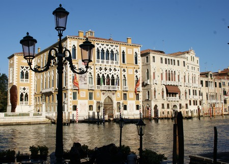 grande: Palaces on the Canal Grande in Venice