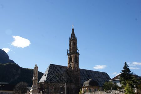 sudtirol: Church in Bolzano, Sudtirol Italy