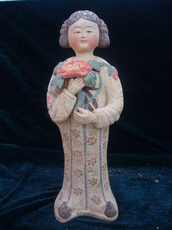 dynasty: Tang Dynasty were figurines