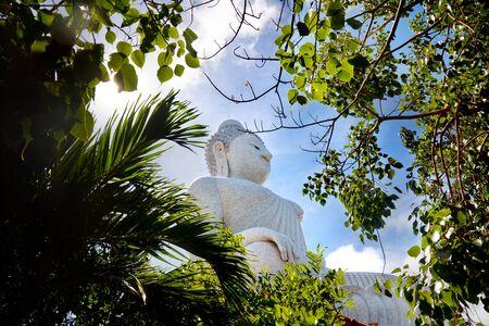 The big buddha in Thailand. Travel to Asia, Phuket Standard-Bild