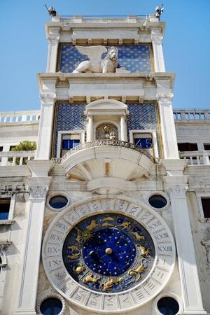 clocktower: the Clocktower in St Mark Stock Photo