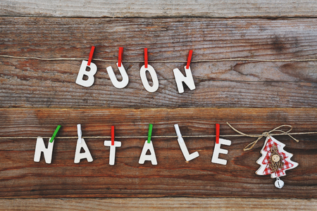 felice: buon natale - merry christmas background
