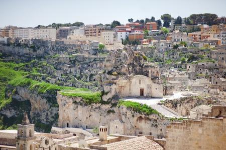 european culture: Panoramic view of Matera (Sassi di Matera), European Capital of Culture 2019, Basilicata, Italy