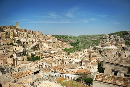 european culture: Matera, European capital of culture 2019, panoramic view, Basilicata, Italy