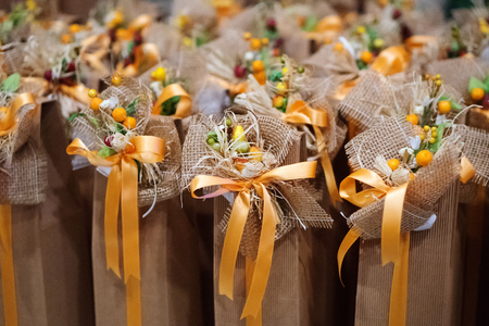 Decorated wedding favors gift for guest